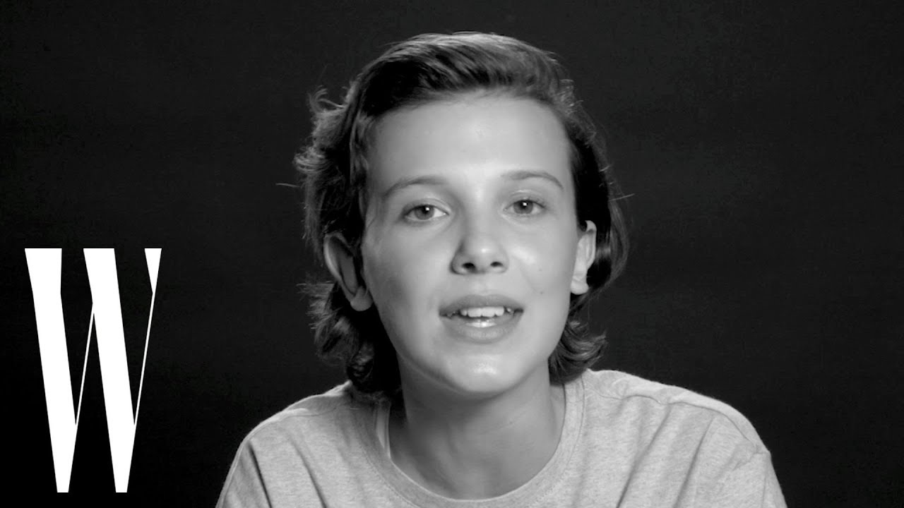 Millie Bobby Brown Sings Bruno Mars'