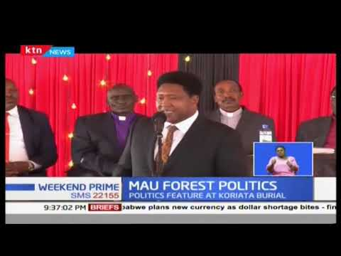 Politics on Maasai mau forest and evictions dominate Narok County