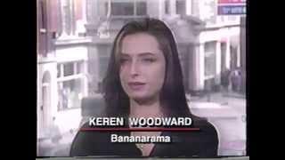 BANANARAMA (KEREN WOODWARD) - INTERVIEW - GOOD ROCKIN' TONITE 1992
