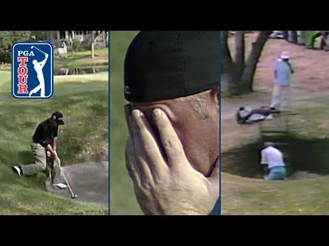 Golf is hard | Awkward bunker shots