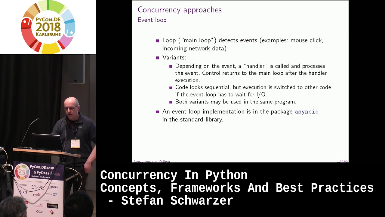 Image from Concurrency in Python - concepts, frameworks and best practices