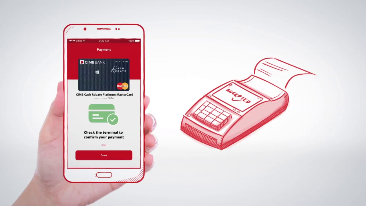 How to make payment via CIMB Pay App?