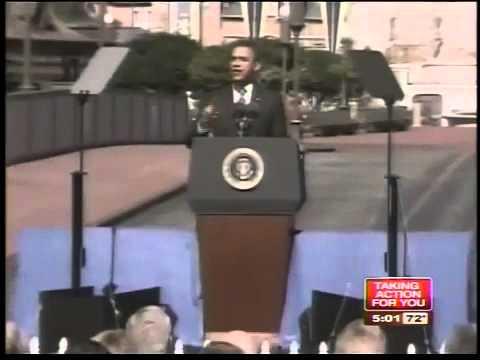 Obama announces tourism plan at Disney World