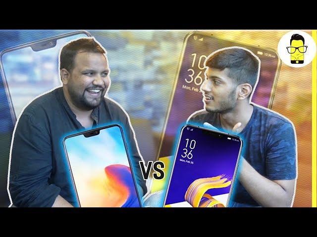Asus ZenFone 5Z vs OnePlus 6 ft. Tech Burner