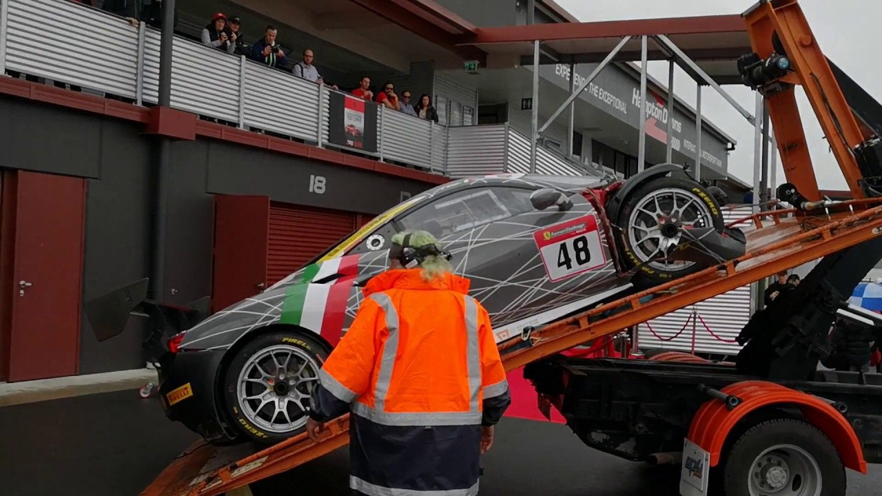 Ferrari 488 Challenge event highlights New Zealand