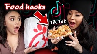 WE TESTED VIRAL TIKTOK FOOD HACKS!!