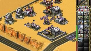 C&C Red Alert 2 Megapack Challenge 1v7 - Sahara - Yuri - Random