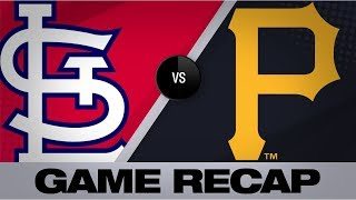 Cards sweep Bucs to tie for Central lead | Cardinals-Pirates Game Highlights 7/25/19