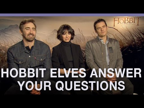 #AskTheElves The Hobbit stars answer your questions