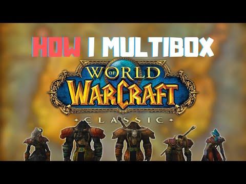 How I Multibox   WoW Classic