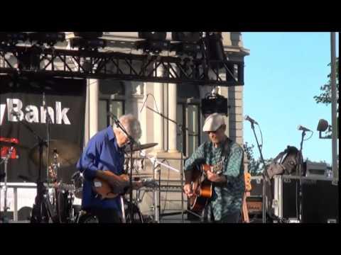 Paul Barrere & Fred Tackett  6/3/15 Empire State Plaza Albany, NY.