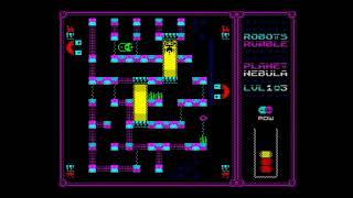 Robots Rumble (2018) Walkthrough + Review, ZX Spectrum