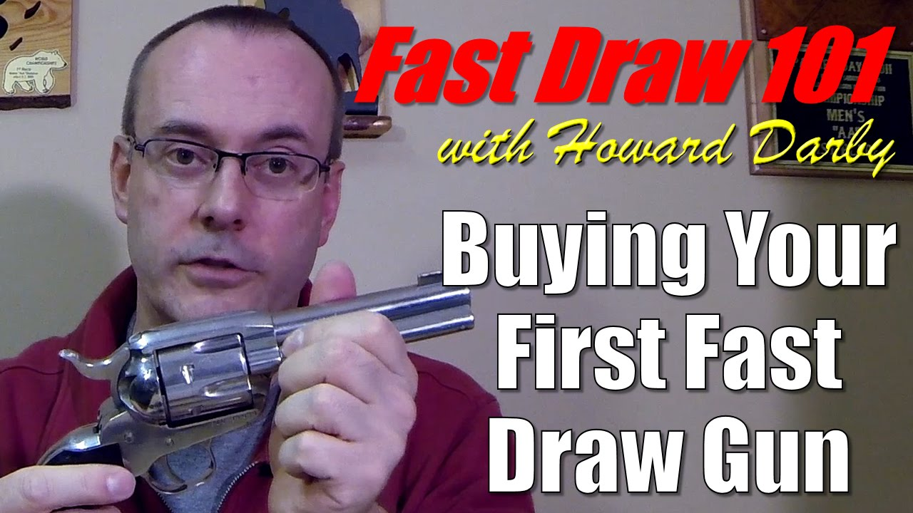 Fast Draw 101 - Buying your first Fast Draw gun