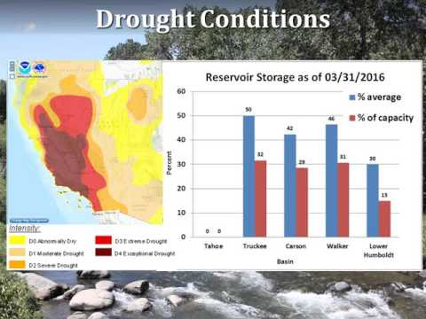 2016 Water Supply Outlook for Northwest Nevada