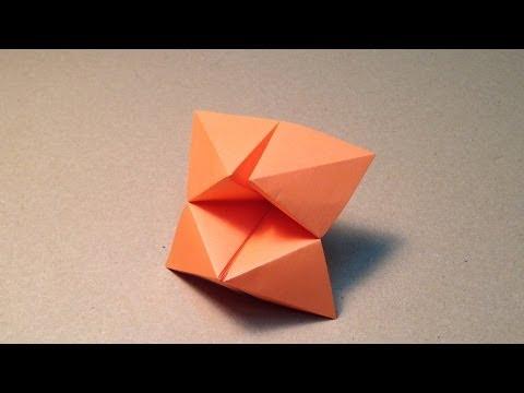 【折り紙(おりがみ)】 パクパクの折り方