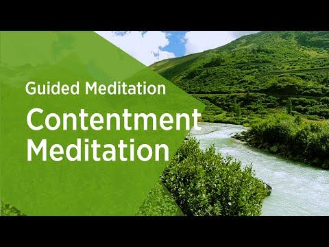 Contentment Guided Meditation | Sri Sri Ravi Shankar