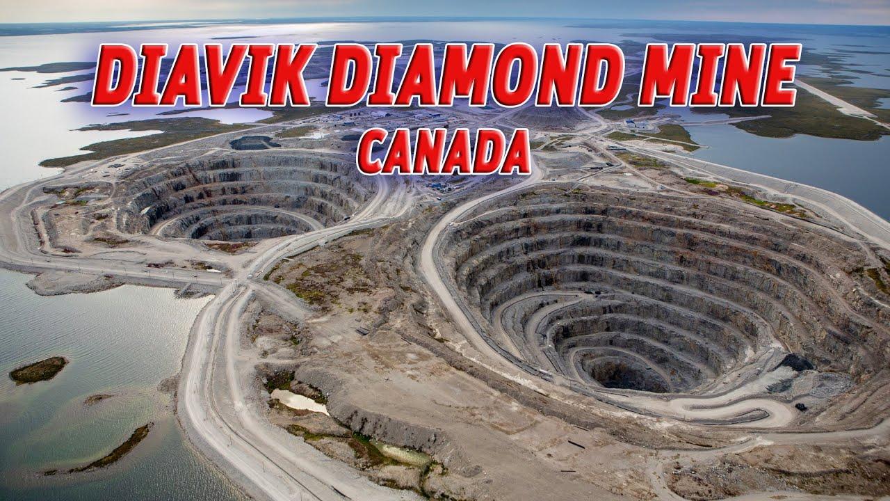 the giant holes diavik diamond mine canada vendora
