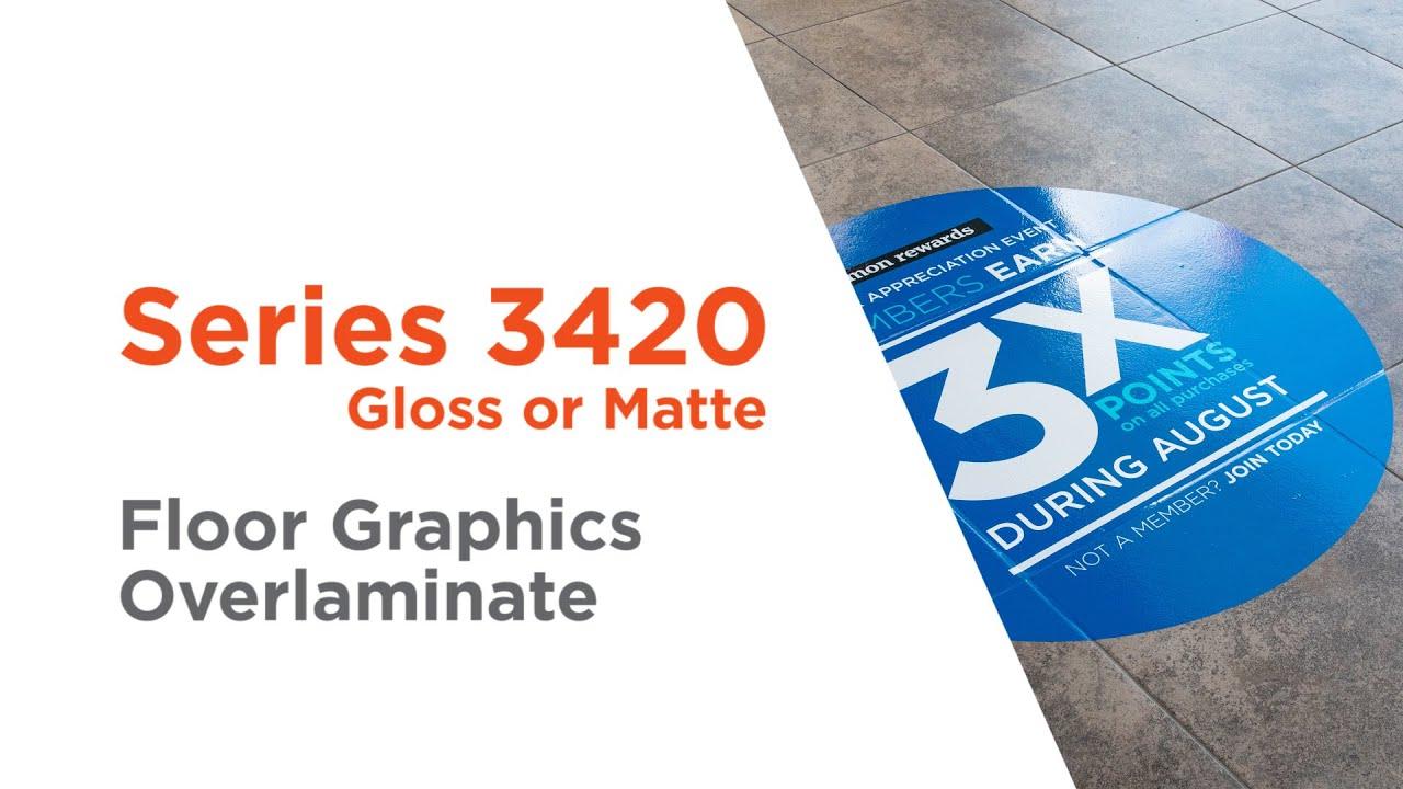 Series 3420 - Approved Slip-Resistant Floor Overlaminate