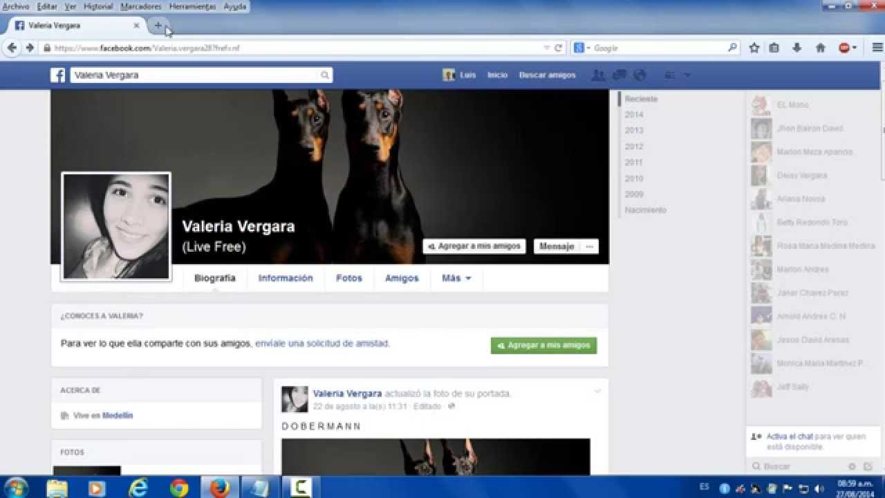 Como ver fotos de perfil privado en facebook youtube for Ver fotos de