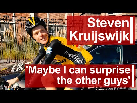 Steven Kruijswijk: 'Maybe I can surprise the other guys'