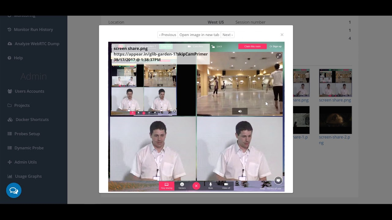 Just Landed: Automated WebRTC Screen Sharing Testing in testRTC