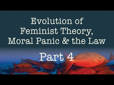 Evolution of Feminist Theory, Moral Panic & the Law - Part 4