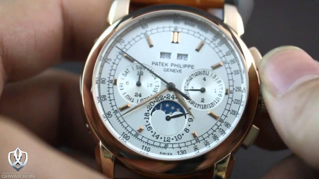 1c78a086b60 Đồng hồ nam Patek Philippe - 012 1990 1990 - YouTube