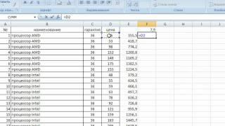 Измененией валюты в прайслитсе с помощью программы Excel