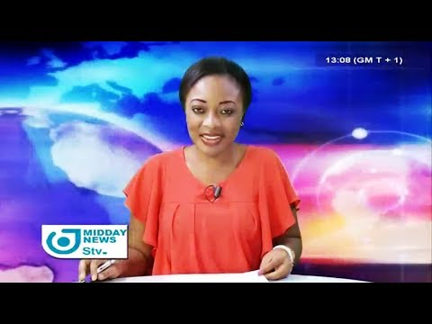STV MIDDAY NEWS 01:00 PM - Wednesday 20th December 2017 - Anchor : Darling FEUDJIO