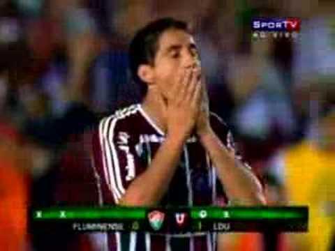 Cobrança de Pênaltis Fluminense 1x3 LDU