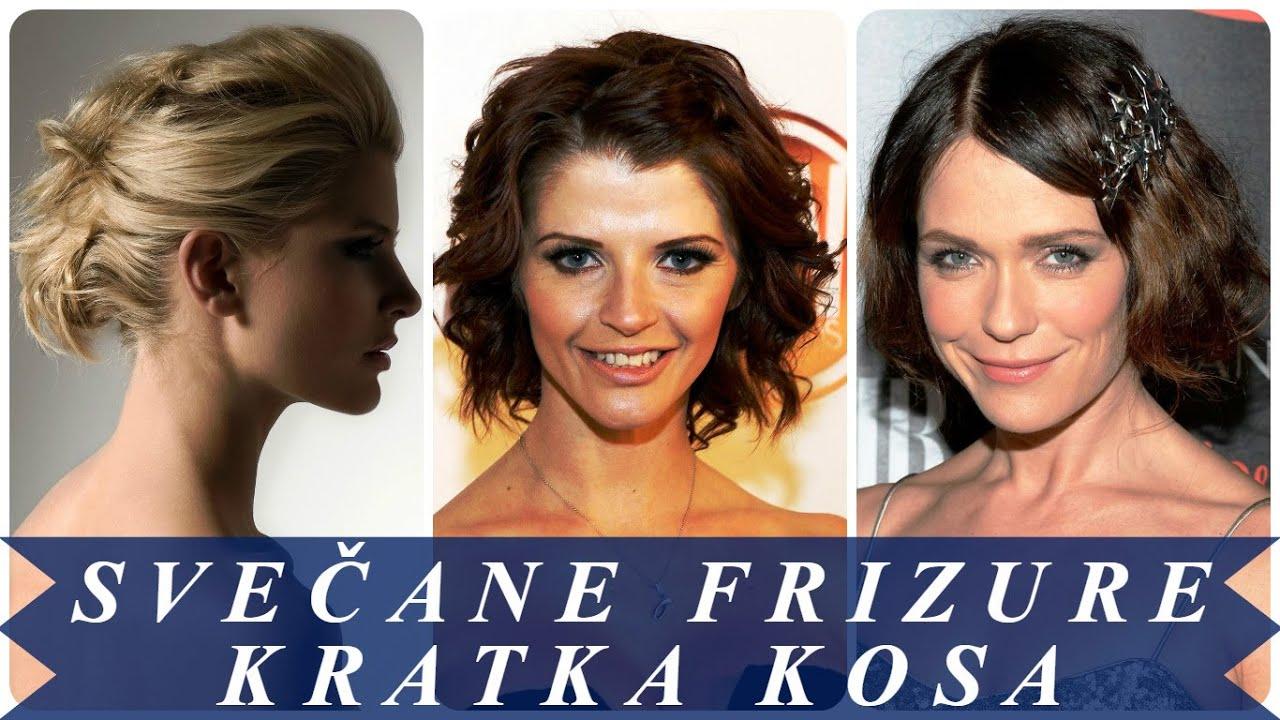 Svečane Frizure Kratka Kosa By Kristina Frizure