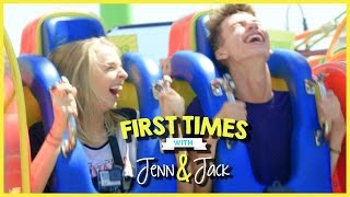 SANTA MONICA PIER! | FIRST TIMES WITH JENNXPENN AND THATSOJACK EP. 5