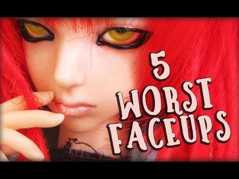 5 Worst BJD Faceups!