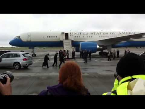 First Lady of the United States Michelle Obama in Dublin