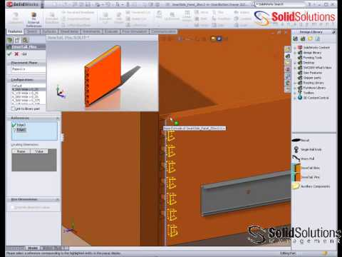 Furniture Design In Solidworks Dovetail Joints Youtube