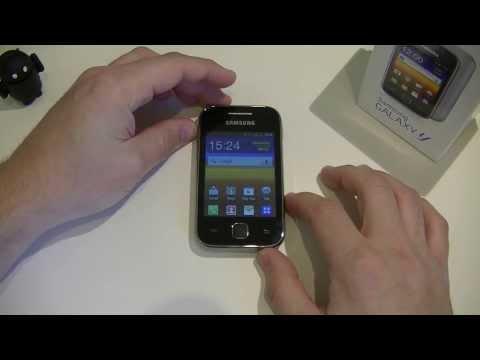 Test du Samsung Galaxy Y | sponsorisé par Prixtel.com