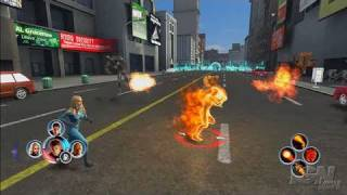 Fantastic 4: Rise of the Silver Surfer Xbox 360 Gameplay -