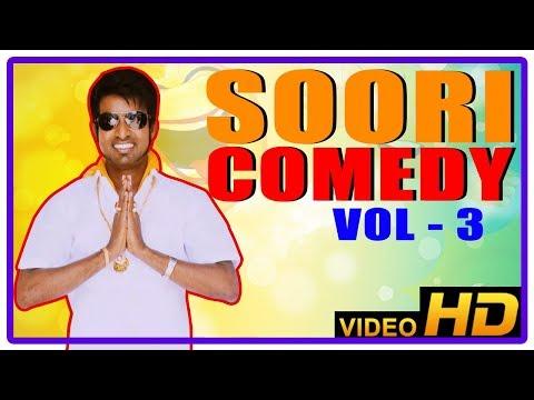 Soori Comedy Scenes | Soori Hit Comedy Collection | Vol 3 | Rajendran | Vivek | Anandraj