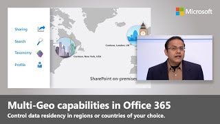 SharePoint Online and OneDrive Multi-Geo to control where your data resides