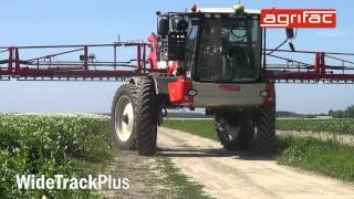 agrifac condor widetrackplus wider track widths for greater yields