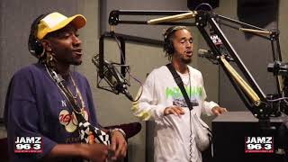 "Social House performs ""Magic in the Hamptons"" ft Lil Yachty live at JAMZ 96.3"