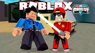 ROBLOX - MAD CITY LIGHT-SABER UPDATE!!!