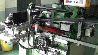 KIM UNION UM-30 thread rolling machine & loading system