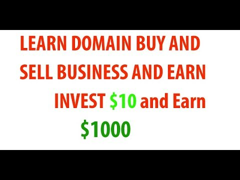 Domain buy and sell  part-01 in Urdu/Hindi