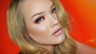 warm toned smokey eyes kings day makeup tutorial
