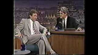 Jay Leno Tim Allen Burnout contest early 90