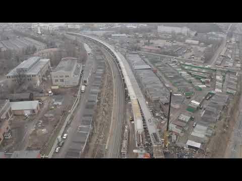 ЖД эстакады в Реутове 2019