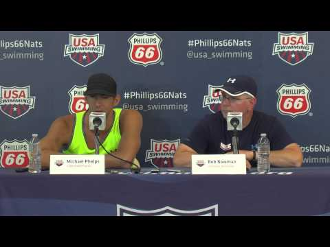 Michael Phelps Press Conference 8 5 2014   USA Swimming National Championships