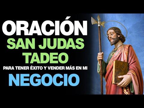 🙏 Oración A San Judas Tadeo Para TENER ÉXITO EN MI NEGOCIO Y VENDER MÁS 📈