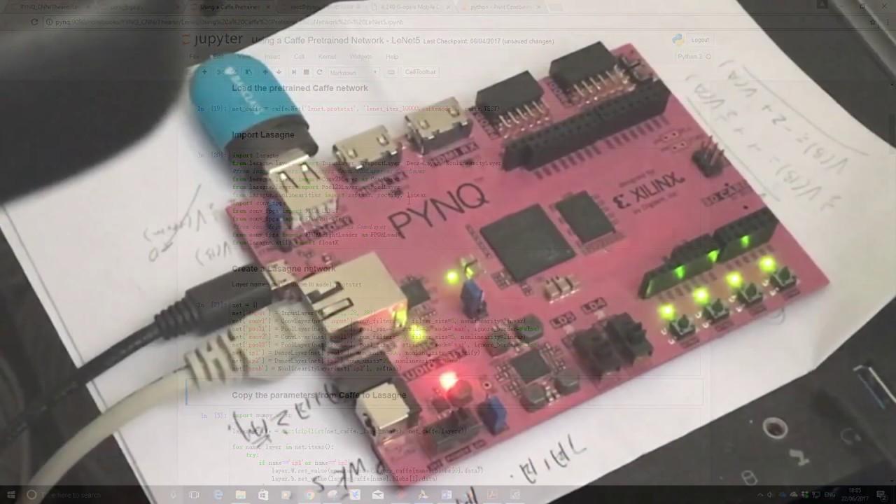 Python on Zynq FPGA for Convolutional Neural Networks (Xilinx XOHW17  XIL-11000)